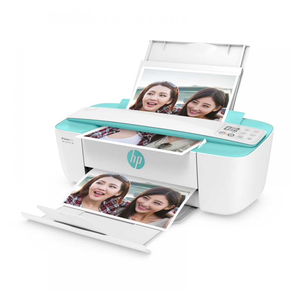 HP DeskJet 3721 All-in-One Printer(綠色)